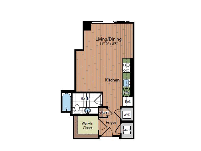 Floor Plan | Parc Meridian at Eisenhower Station