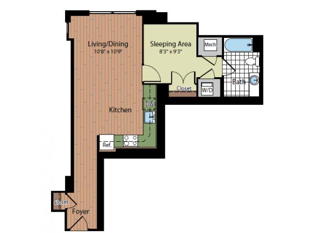 Floor Plan 3 | Parc Meridian at Eisenhower Station
