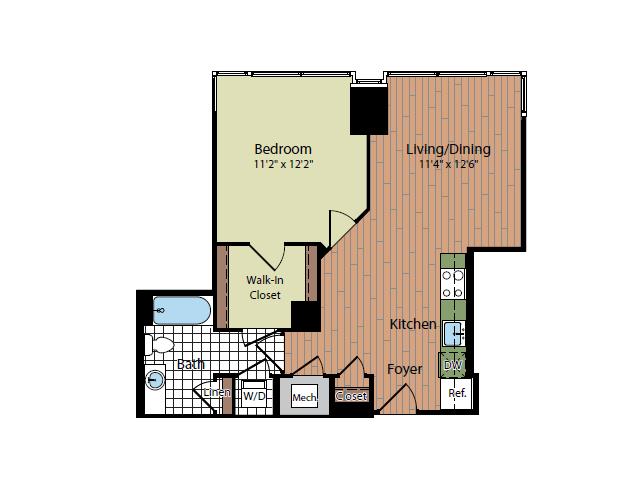 Floor Plan 6 | Parc Meridian at Eisenhower Station