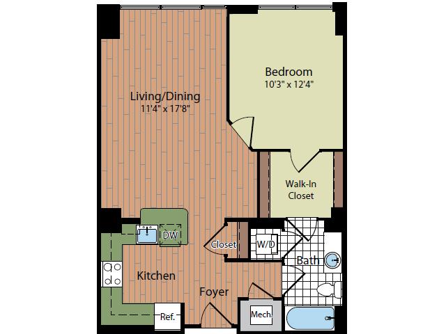 Floor Plan | Parc Meridian at Eisenhower Station 2