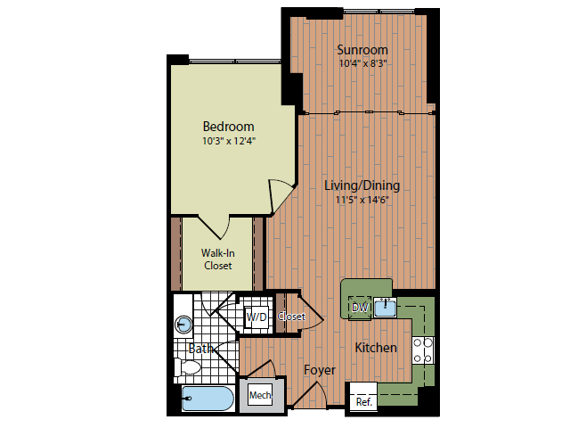 Floor Plan 3 | Parc Meridian at Eisenhower Station 2