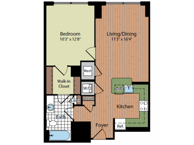 Floor Plan 5 | Parc Meridian at Eisenhower Station 3