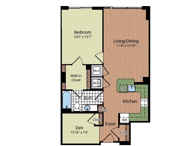 Floor Plan | Parc Meridian at Eisenhower Station 8