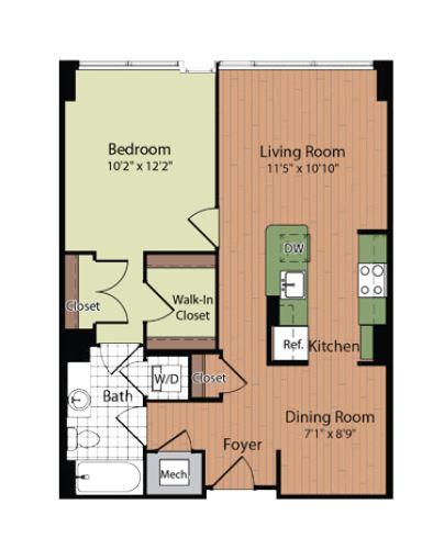Floor Plan 5 | Parc Meridian at Eisenhower Station