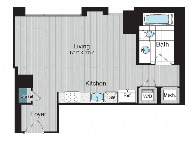 S2 floorplan