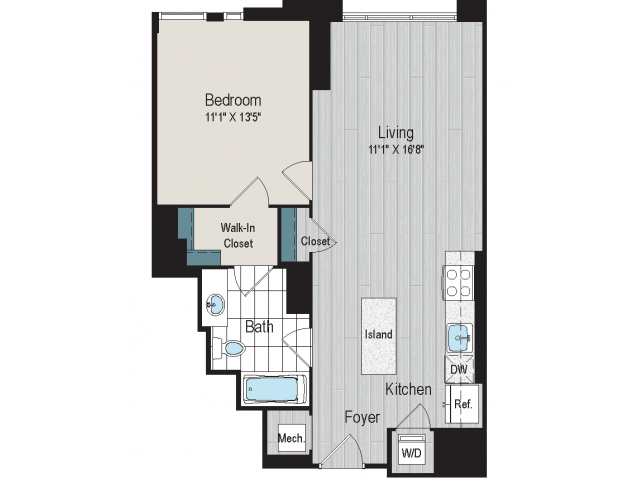1B2a Floorplan