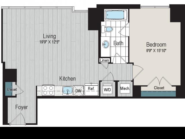 1B3a Floorplan