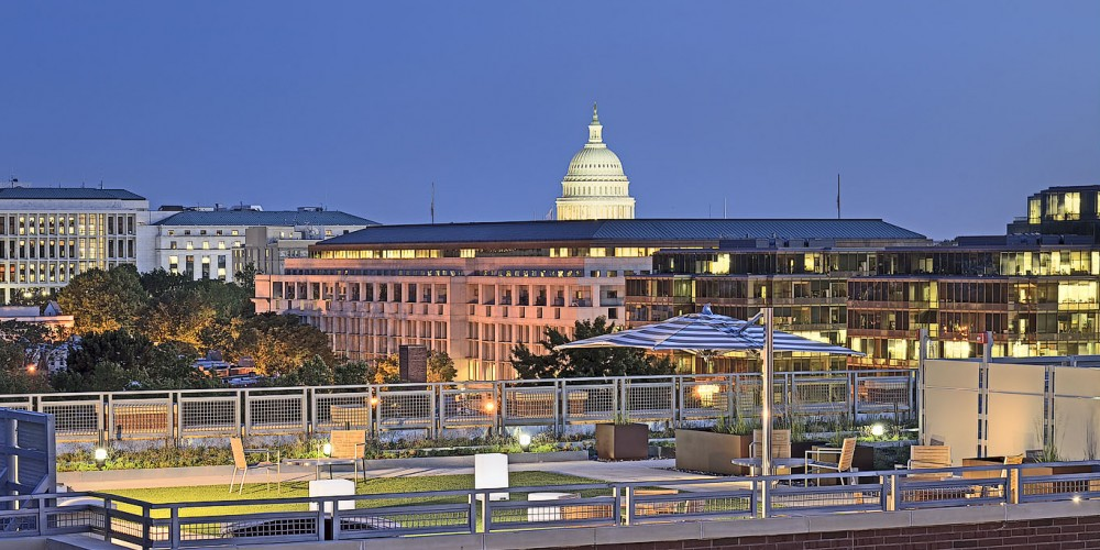 View From the 360 H Street Rooftop | Washington DC Apartments