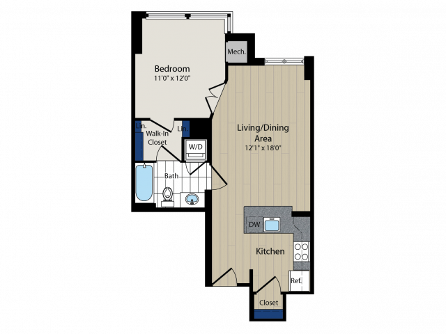 Floor Plan   Meridian at Courthouse Commons2