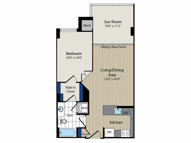 Floor Plan 2   Meridian at Courthouse Commons 4