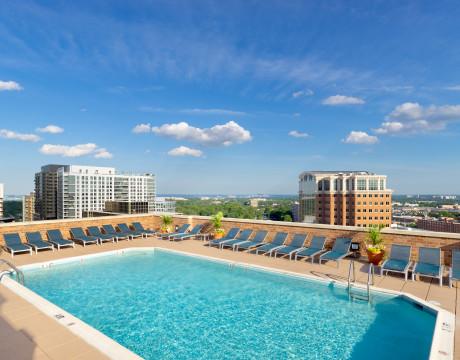 Raquetball Court | Meridian at Ballston Commons | North Arlington, VA Apartments