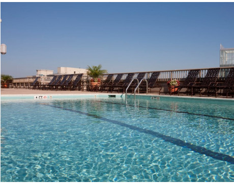 Rooftop Swimming Pool | Meridian at Gallery Place | Apartments Washington DC