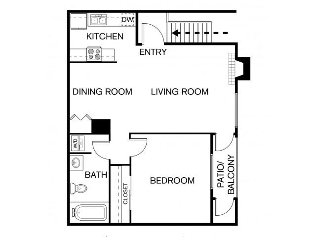A1F Floor Plan
