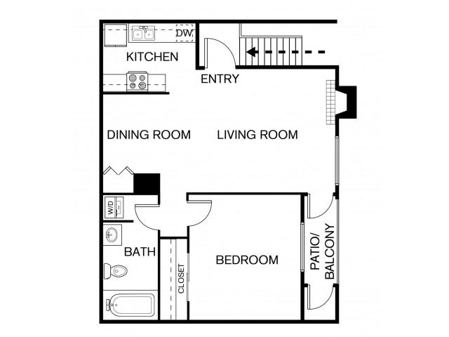 A1P Floor Plan