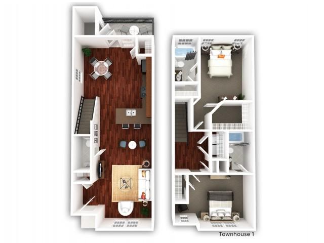 2 Bedroom_Townhome