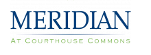 Meridian at Courthouse Commons Logo | Arlington Apartments