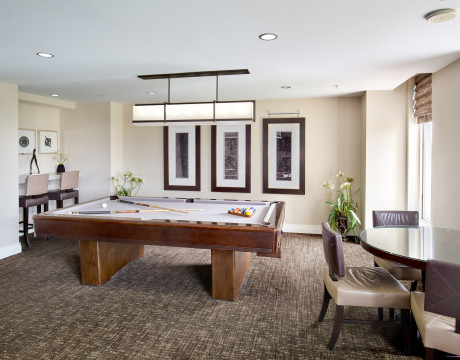 Club Room | Carlyle Place | Alexandria VA Apartments