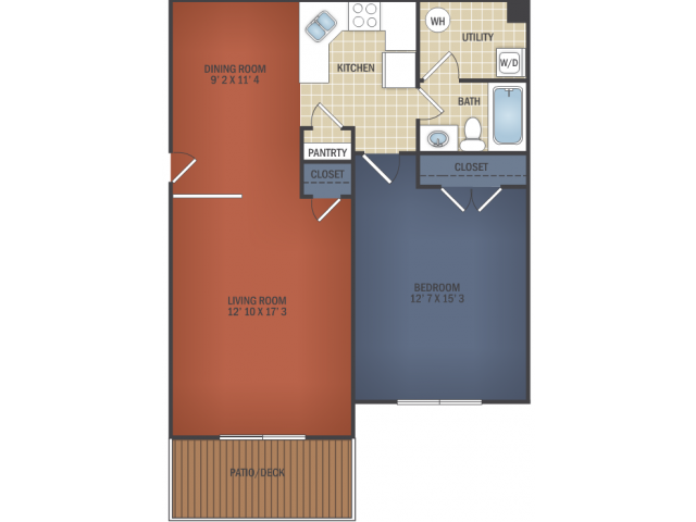 Oversized One Bedroom