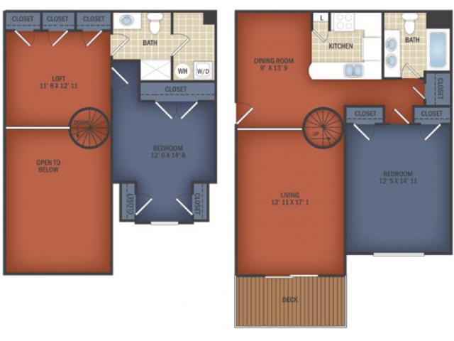 Two Bedroom Junior Loft
