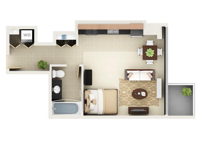 Studio Floor Plan S1