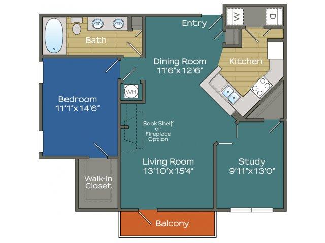 One Bedroom Apartment in Buckhead