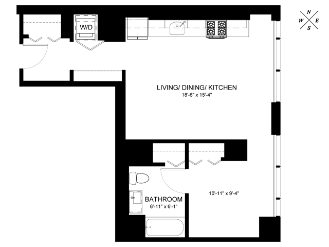 Convertible Floor Plan CA2