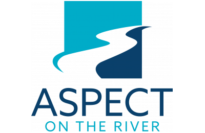 Logo- aspect on the river