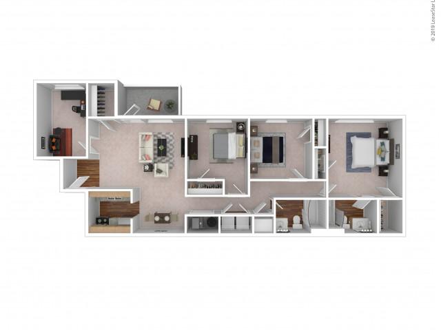 Chatham - 3 Bedroom - 2 Bath - Optional Den