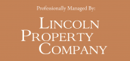 Professionally Managed by Lincoln Property Company