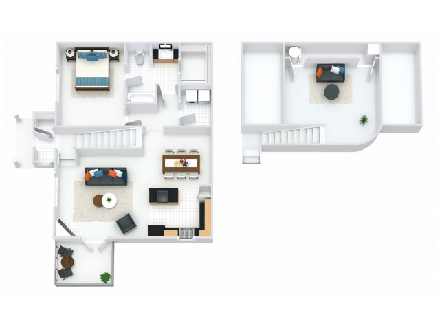Regents Loft 1BR/1BA 1135  square feet