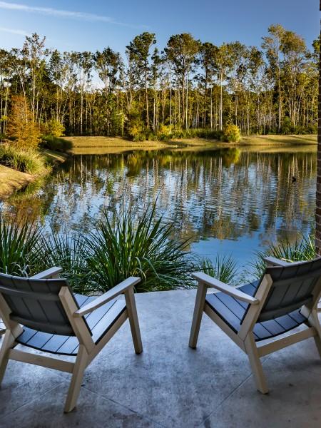 pond views