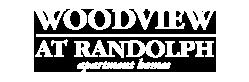 Woodview at Randolph Logo