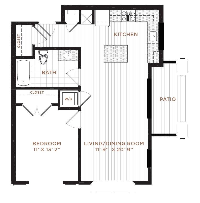 Floor Plan 4 | Apartment In Derry NH | Corsa