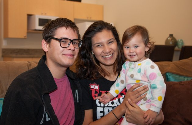 Tacoma families find homes at the Mason Avenue Apartments in time for the holidays.