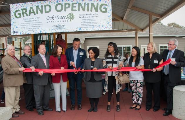 Senator, Mayor, Tacoma Community Celebrate Oak Trace Apartments Grand Opening