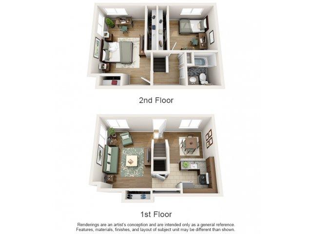 Arlington Townhomes & Apartments