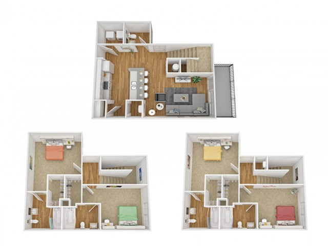 4x4 Townhome