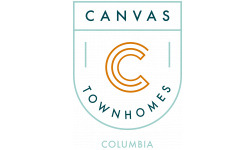 Canvas Townhomes Columbia Logo