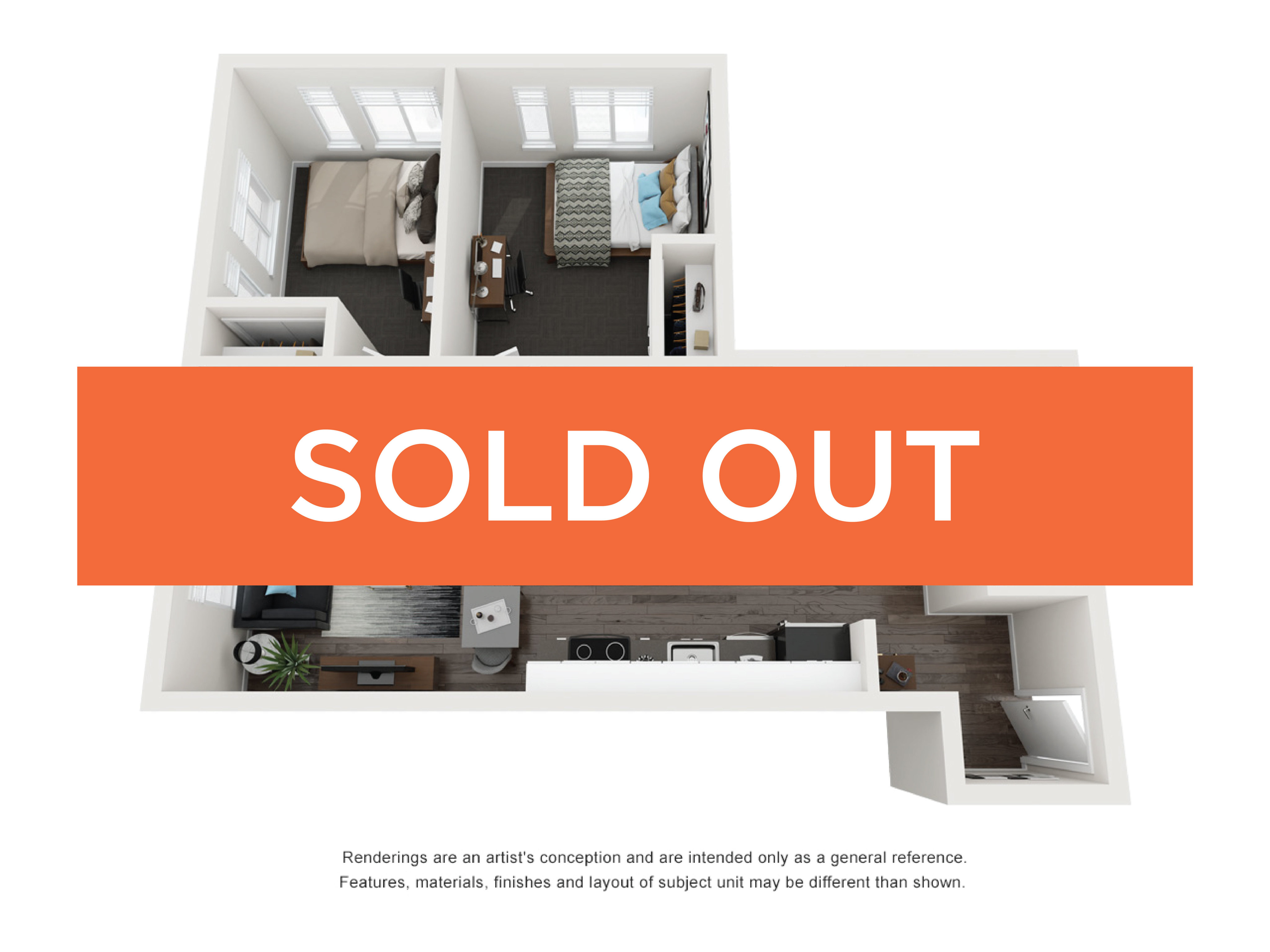 2BR/2BA - Savannah Elite sold out