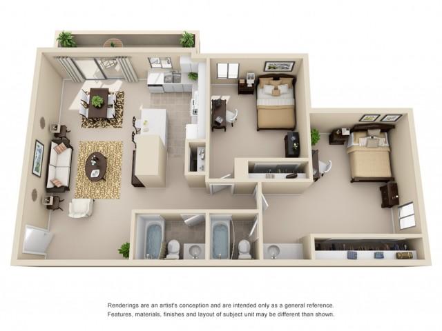 2 bedroom apartments in riverside ca