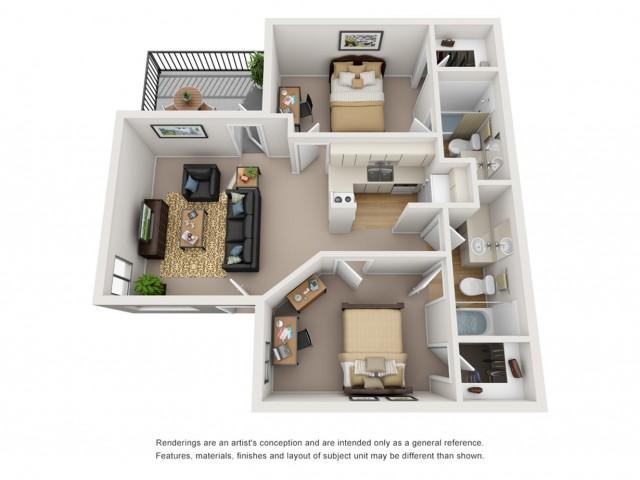 2 bedroom apartments tucson