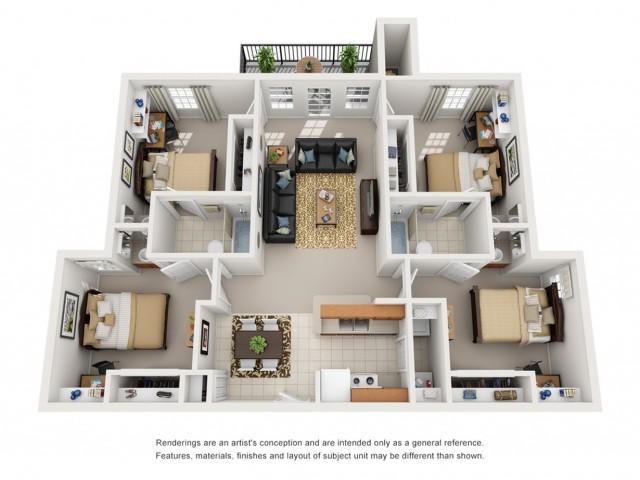 4 bedroom houses for rent in tucson az