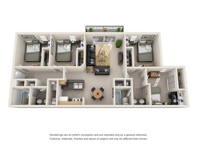 4 bedroom apartment fort collins
