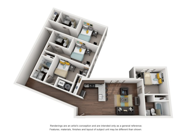 4 bedroom apartments in tallahassee fl