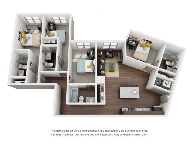 4 bedroom apartments near fsu