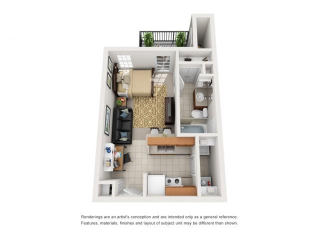 studios for rent in tucson az
