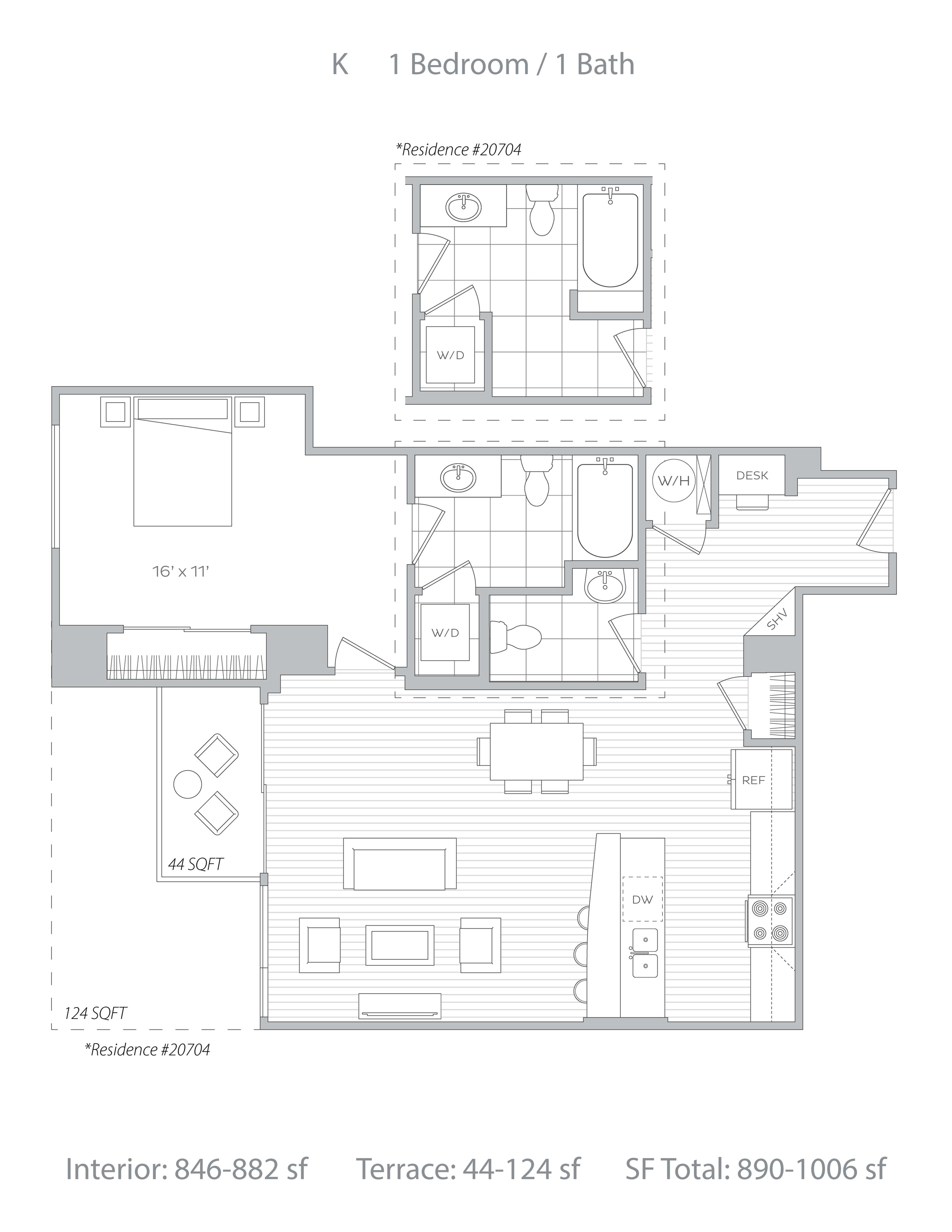 K Floor Plan