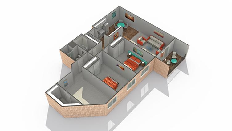 Floor Plan | Eden Prairie Luxury Apartments | ReNew Eden Prairie