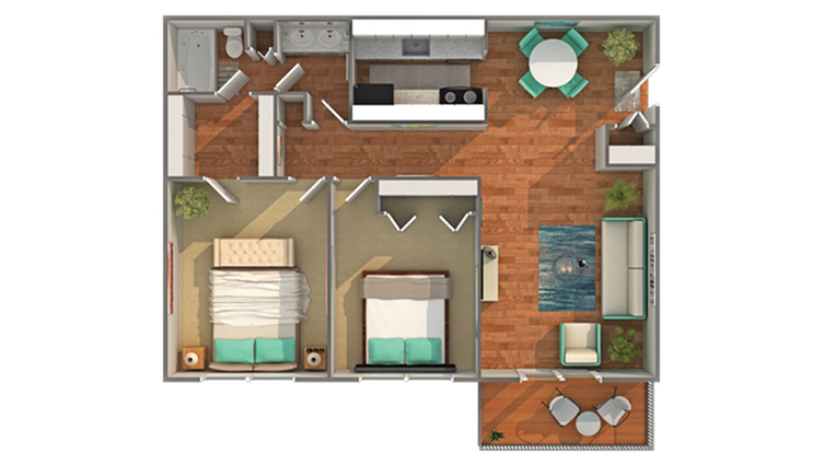 Floor Plan   ReNew Madison Apartment Homes for Rent in Madison WI 53711