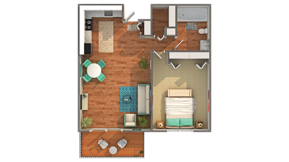 Floor Plan Layout | ReNew at Neill Lake Apartment Homes for Rent in Eden Prairie MN 55344
